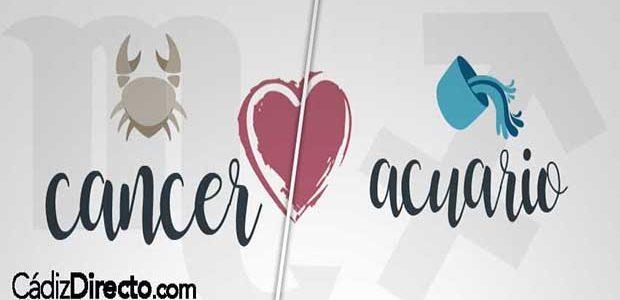 Compatibilidad entre Cáncer y Acuario en el Amor