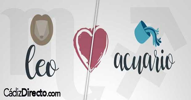 Compatibilidad entre Leo y Acuario en el Amor