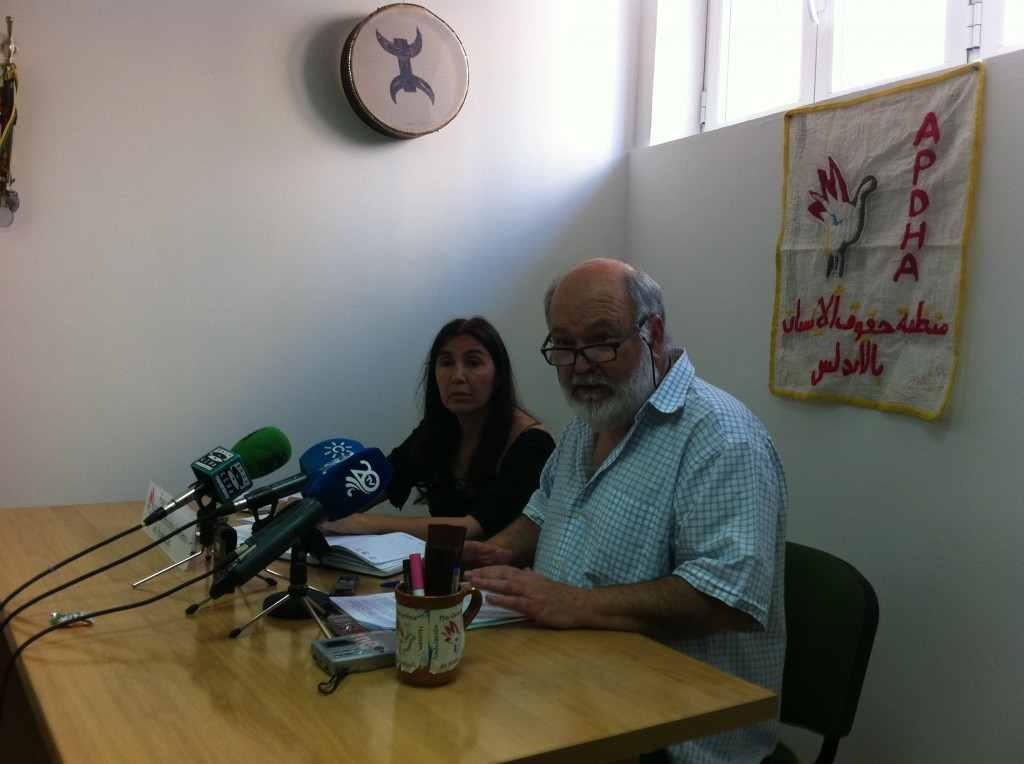 Rafael Lara, portavoz de la APDHA. Foto JC