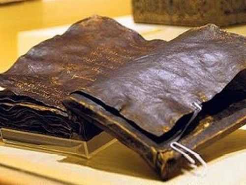 La polémica Biblia guardada en Turquía