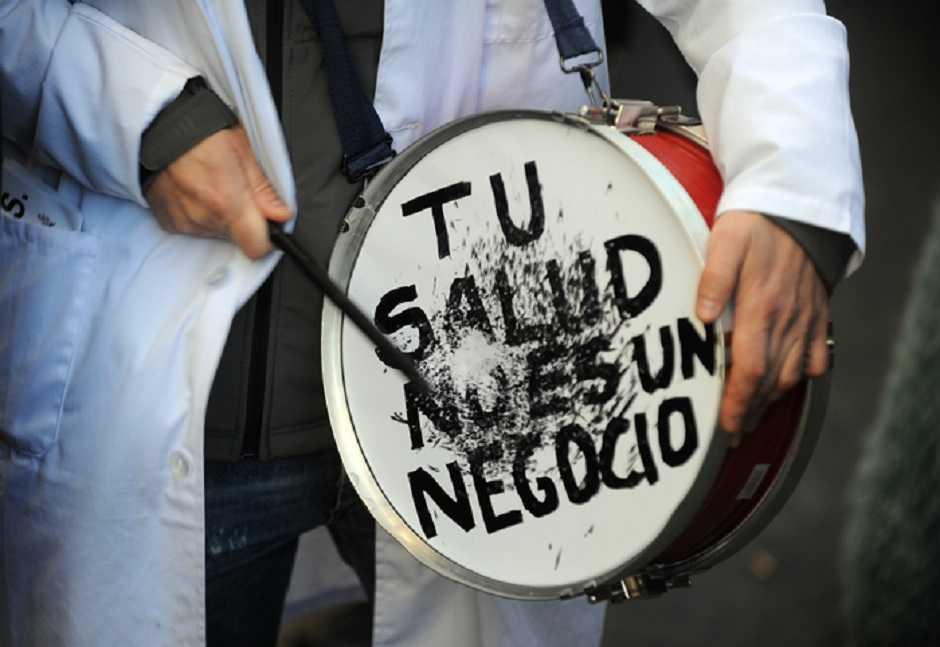 Manifestación por la Sanidad Pública