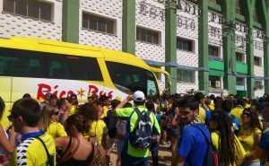 Desplazamiento de cadistas a Cáceres