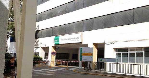 Entrada al hospital