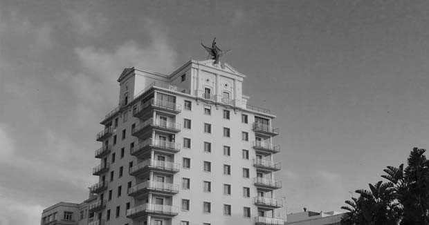 La tarde en que el ave del Edificio Fénix se vino abajo