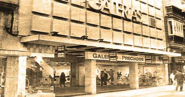 Los tiempos en que Galerías Preciados animaba el comercio gaditano