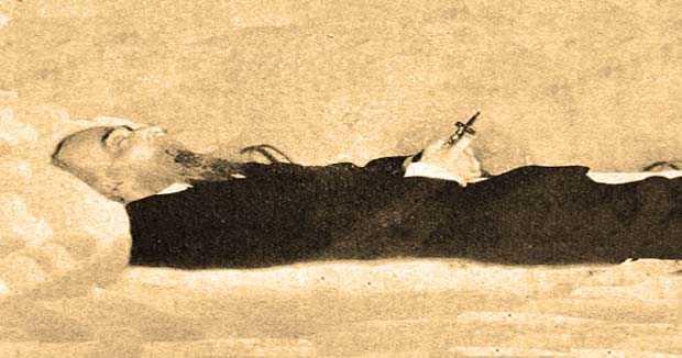 El accidentado entierro de Cayetano del Toro